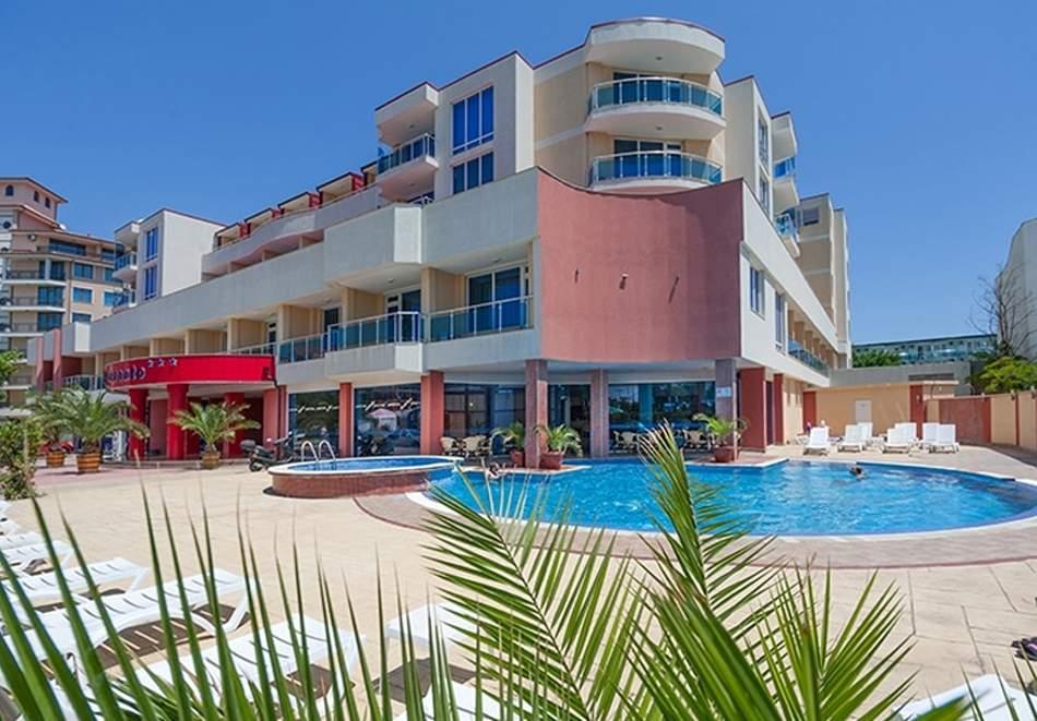 Ваканция в хотел Есперанто, Слънчев бряг! Възползвайте се от вечери и закуски!