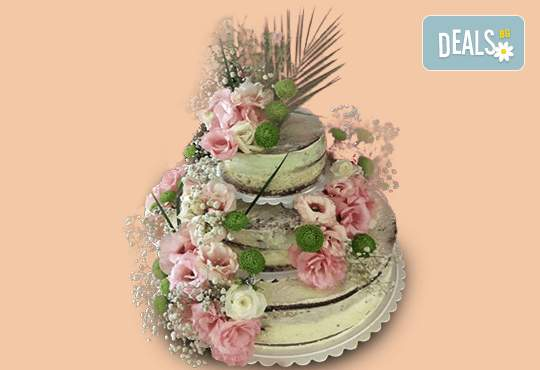 """Сладко похапване от """"Джорджо Джани""""! Включва Винтидж сватбена торта с цветя"""