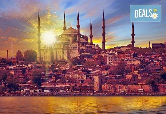 Ваканция за три дни до Истанбул! Включва изхранване закуски!