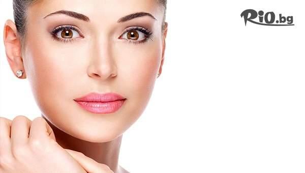 Почистване на лице с ултразвукова шпатула + дарсонвал, Кислородна мезотерапия за околоочен контур, лице, шия, от Студио за красота Beauty Magy