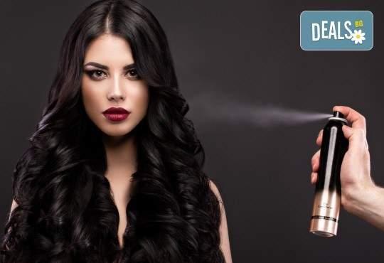 Терапия за косата и прическа със сешоар в Салон Bibi Fashion
