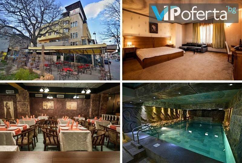Релаксирайте в Хотел България, Велинград! Включено изхранване вечеря и закуска!