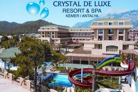 Лято 2019 в ТУРЦИЯ, АНТАЛИЯ! Чартърен полет + 7 нощувки на база ULTIMATE ALL INCLUSIVE в хотел CRYSTAL DE LUXE RESORT&SPA 5 * от 984 лв. на Човек!