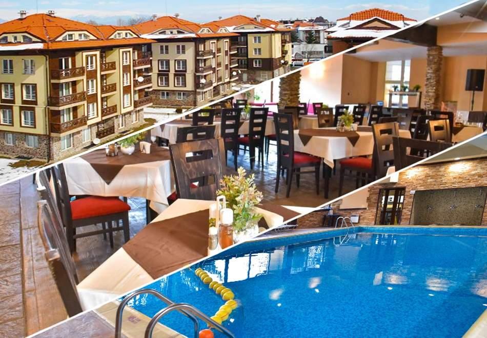 Нощувка на човек + басейн и релакс зона в апарт хотел Божурленд, Банско