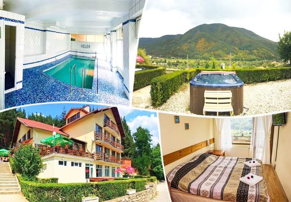 Почивка в хотел Хелиер, Банско! Включва изхранване вечеря и закуска! Плюс басейн с минерална вода