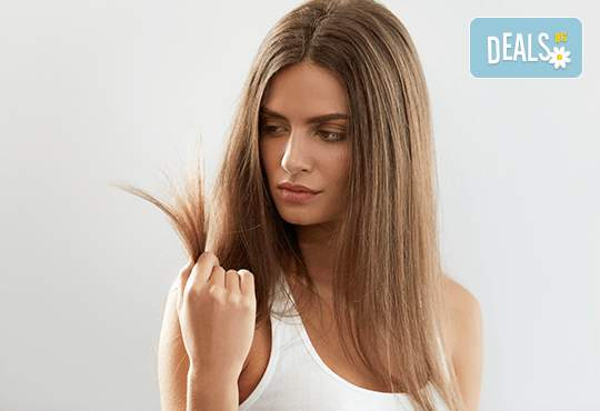 Консултация, ботокс терапия за коса и сешоар във фризьоро-козметичен салон Вили