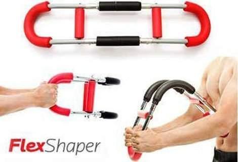 За мъже и жени: Революционния фитнес уред Flex Shaper за укрепване мускулите на ръцете, гърдите, гърба и раменете, на топ-цена 9.90 лв.