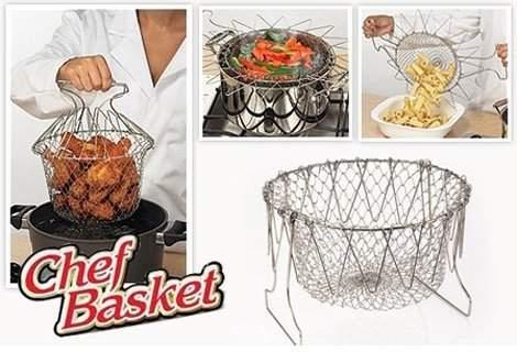 Бъдете практични с Кухненски помощник Chef Basket на специална цена!
