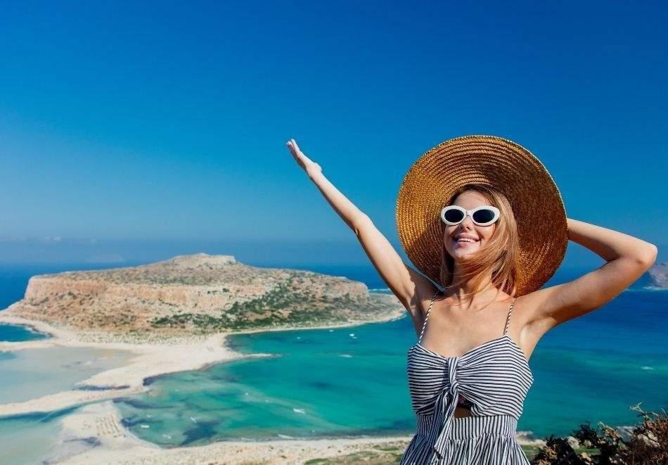 """Круиз """"5 гръцки острова - Родос, Крит, Милос, Миконос, Санторини и Кушадасъ""""! Автобусен транспорт и 7 нощувки на човек във вътрешна каюта Ð"""