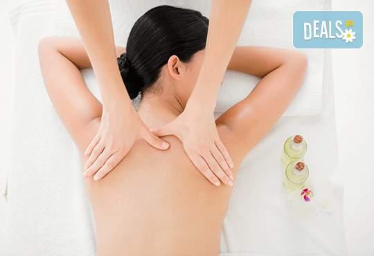 90-минутен релаксираш масаж на цяло тяло от масажист Теньо Коев