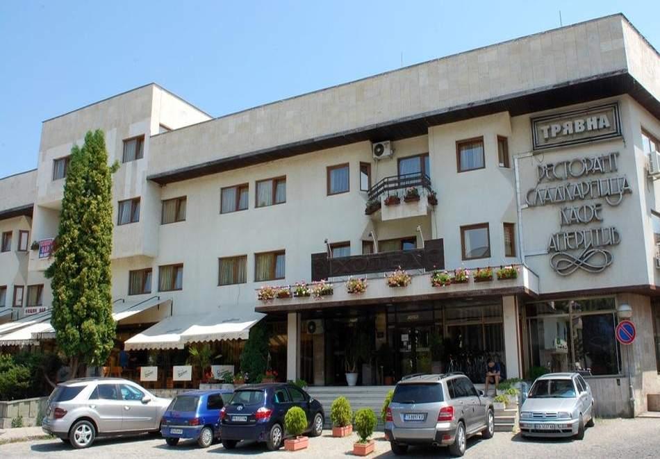Почивайте в хотел Трявна! Включва изхранване вечеря и закуска! Плюс сауна