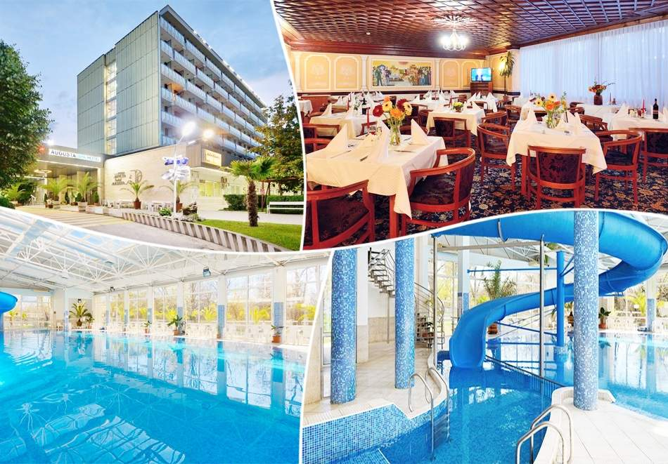 5+ нощувки за двама или трима със закуски + минерални басейни, джакузи и релакс пакет в хотел Аугуста, Хисаря