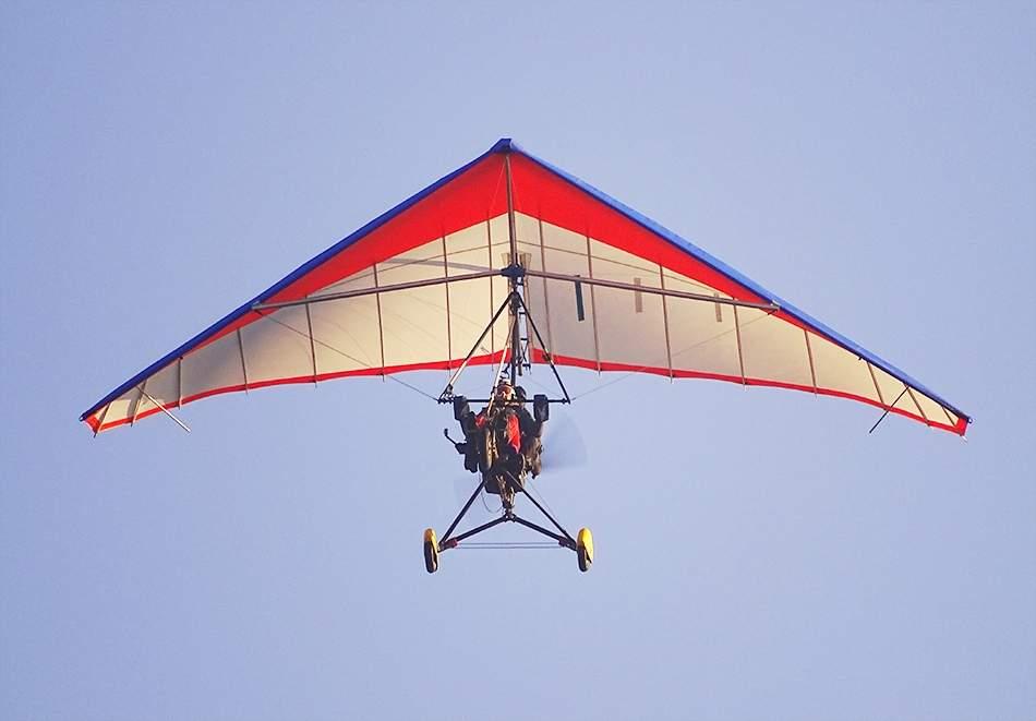 15 или 30 минутен мотивационен полет с моторен делтапланер + видеозаснемане от Вертикал Дименшън