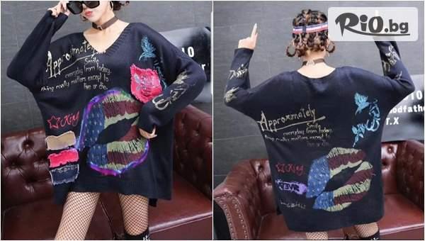 "Модерен Дамски пуловер ""Joanna"", от Memento Exclusive"