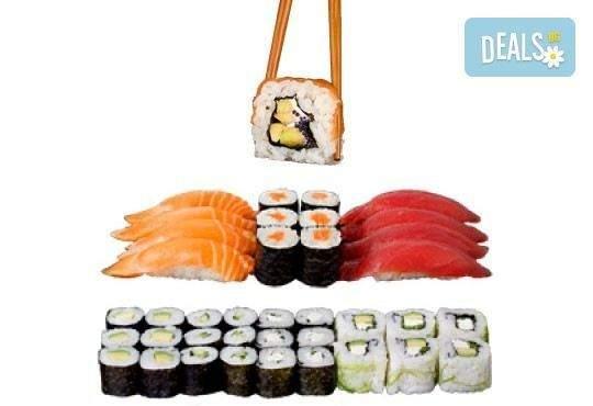 """Хапнете вкусно със Sushi King! Включва Суши сет """"Киото"""""""