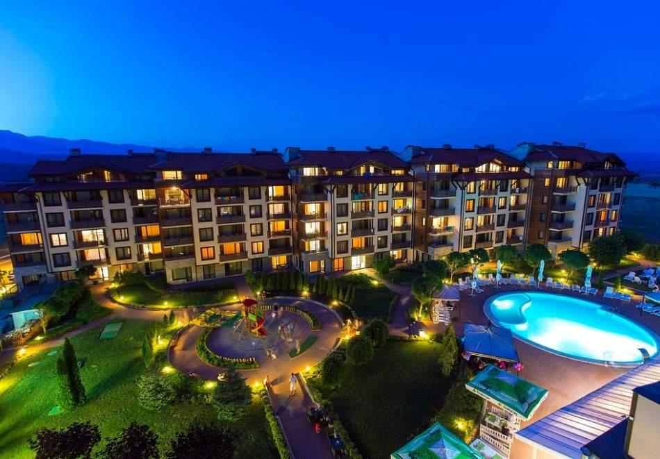 Майски празници до Банско! 2 или 3 нощувки на човек на база All inclusive + басейн и СПА зона от Мурите Клуб Хотел