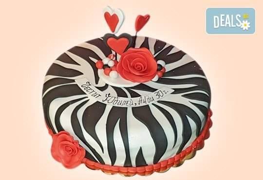 Джорджо Джани предлага Торта с 3D цветя по ваш дизайн!