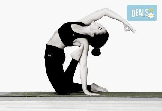 2/4 посещения на йога със Здравка Будинова в Sofia International Music & Dance Academy