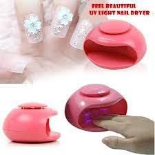Мини преносима сушилня за нокти с UV светлина