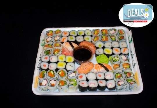 Изненадайте гостите си с рибени хапки от Sushi Market!