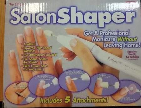 Комплект за маникюр Salon shaper