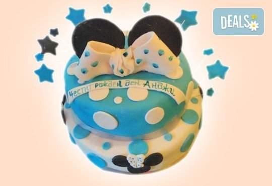 Party торта с 3D декорация от Сладкарница Джорджо Джани