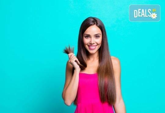 Погрижете се за косата си в салон Хармония! + Сешоар и терапия