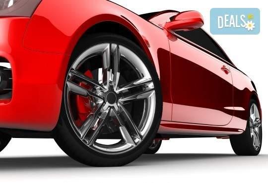 Промоция за смяна на два броя гуми за вашият автомобил от автоцентър Торнадо!