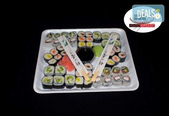 Специално хапване за вашите гости от Sushi Market! Включва суши хапки