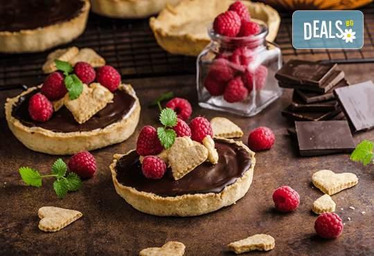 Възползвайте се от различни видове сладки тарталети за различни случаи от H&D catering!