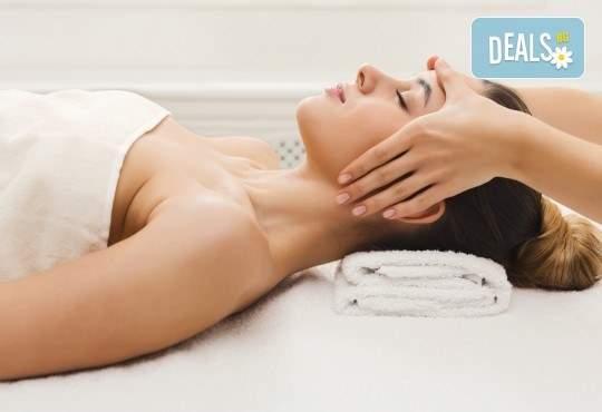 Релаксирайте в студио Модерно е да си здрав! Включени масаж против стрес и рефлексотерапия! + Лифтинг масаж