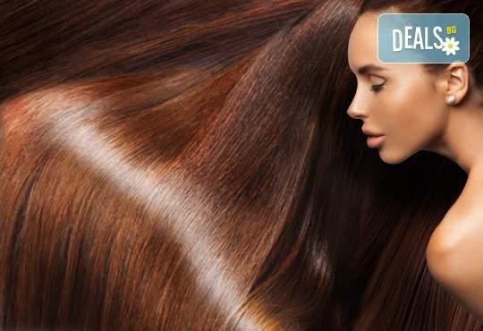 Възползвайте се от изправяне на коса с ефект арган от салон Вили! Трайно до шест месеца