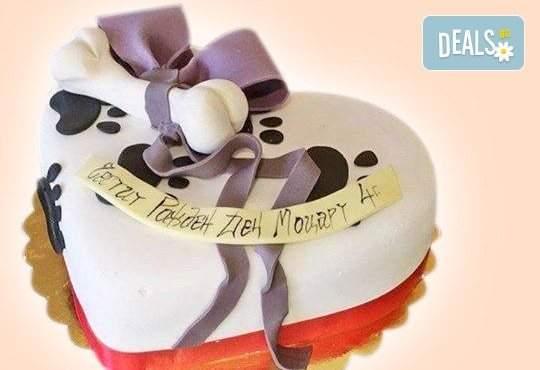 Изненадайте се Вашия домашен любимец със ладкарница Джорджо Джани! Включва тематична торта