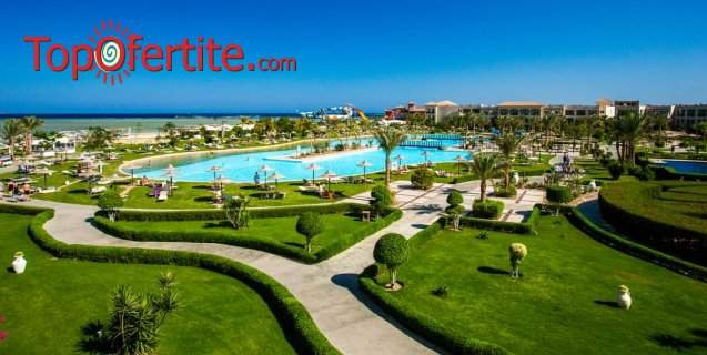 All Inclusive в хотел Jaz Aquamarine Resort Hughada*****, Египет за осем дни! + Транспорт