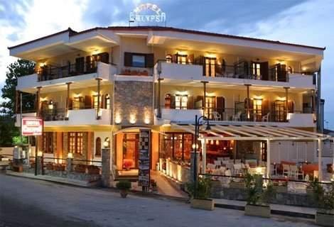 ЛЯТО, ХАЛКИДИКИ, CALYPSO HOTEL 3*:  нощувка със Закуска в двойна Икономична стая - 69 лв. За Двама + Дете до 5.99 год
