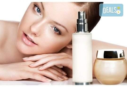 Почистване на лице в 10 стъпки с козметика Glory, терапия за лице по избор и бонус