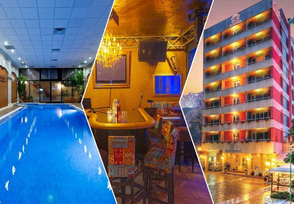 Ваканция в хотел Свети Никола*4, Сандански! Включени басейни с минерална вода и закуска!
