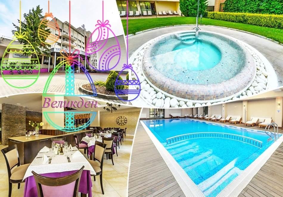 Великден или майски празници в хотел Сана Спа****, Хисаря! 2+ нощувки за двама със закуски + минерален басейн и СПА пакет. ДЕТЕ ДО 12г. БЕЗПЛАТНО!