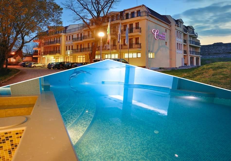 2 или 3 делнични нощувки на човек със закуски + МИНЕРАЛЕН басейн, сауна и парна баня в хотел Си Комфорт***, Хисаря