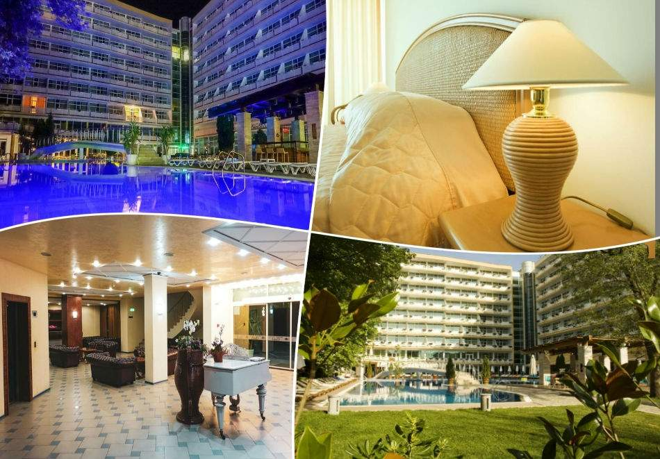 Късно лято в Слънчев бряг 26.08-30.09! Нощувка на база All Inclusive + басейн на 80 м. от плажа в Гранд хотел Оазис