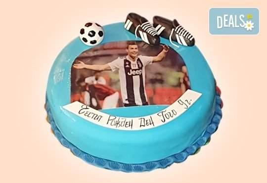 Джорджо Джани предлага 3D торта за футбулни фенове на промо цена!
