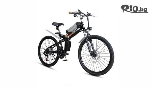 Сгъваем електрически велосипед, от Topgoods.bg