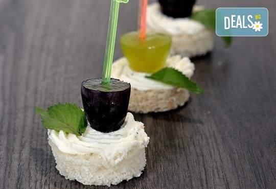 Почерпете гостите си с кулинарна работилница Деличи! Включва хапки и доставка