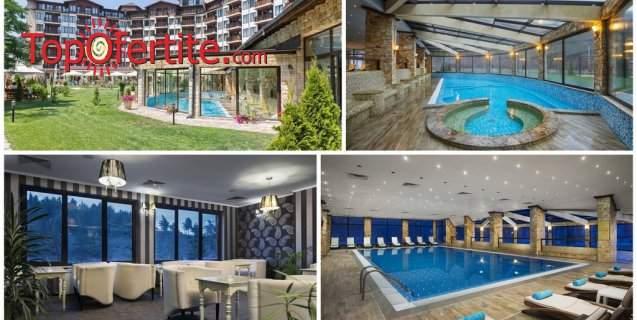 Отпочивайте в хотел Свети Спас*****, Велинград! Включва изхранване вечеря и закуска! + Анимация за деца и басейни