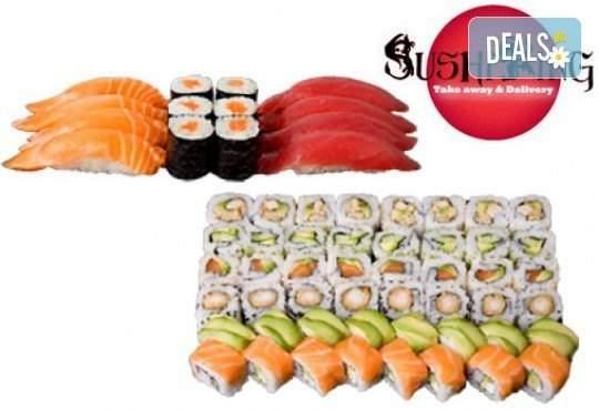 """Вкусно хапване от Sushi King! Възползвайте се от Суши сет """"Хосомаки-Осака"""""""
