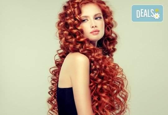 Погрижете се за косата си в студио Вая! + Боядисване
