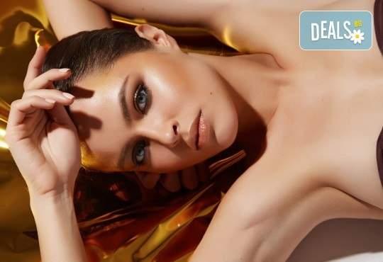 Възползвайте се от златна лицева терапия от Anima Beauty&Relax!