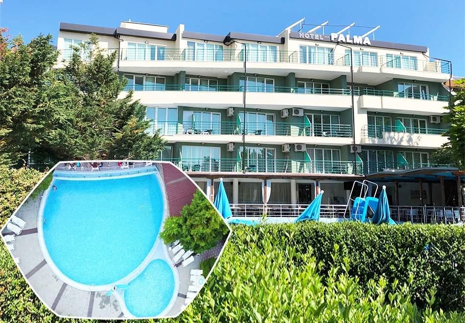 Ваканция в хотел Палма, Слънчев Бряг! Възползвайте се от басейн и закуска!