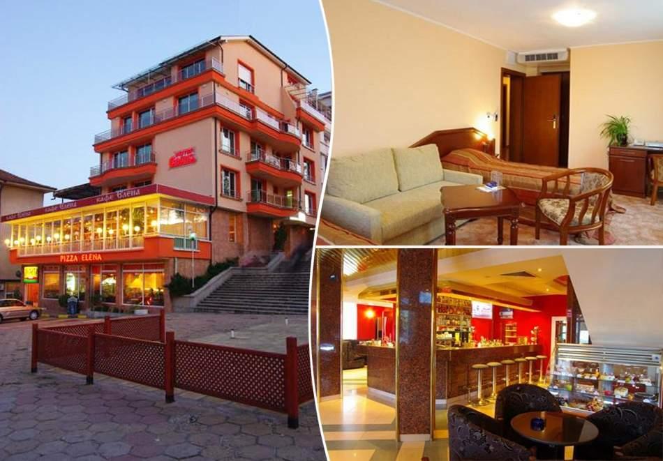 Нощувка на човек със закуска и вечеря в хотел Елена, Велико Търново