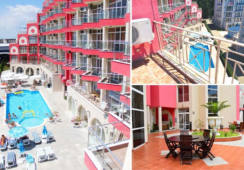 ТОП сезон в Слънчев бряг! 2+ нощувки на човек + басейн от Апарт хотел Роуз Гардън